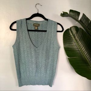 🍁sale🍁vtg. Eddie Bauer sweater vest